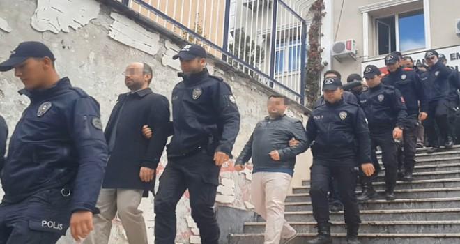 FETÖ Operasyonu: 20 kişi adliyeye sevk edildi