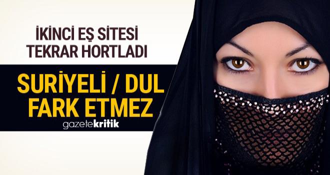 İkinci eş sitesi faaliyette! Suriyeli kadınlarla ilgili skandal ifadeler