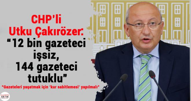 CHP medyanın sorunlarının araştırılması için Meclis Araştırması istedi