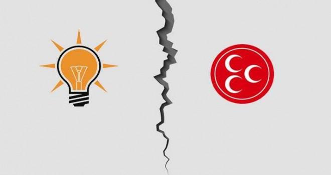 AKP'li bir gruptan , MHP adayı ve parti üyelerine pusu!