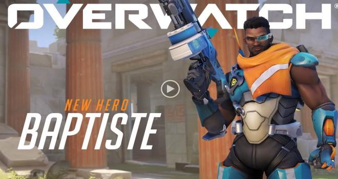 Overwatch'a yeni kahraman: Baptiste ile tanışın!