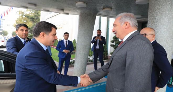 Vali Şahin'den İBB'ye veda ziyareti