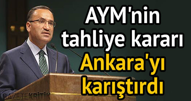 Bakan Bozdağ'dan Anayasa Mahkemesi'ne tepki