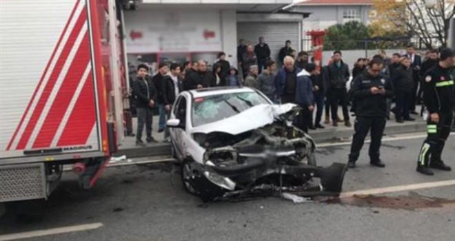 Avcılar'da trafik kazası: 4 yaralı