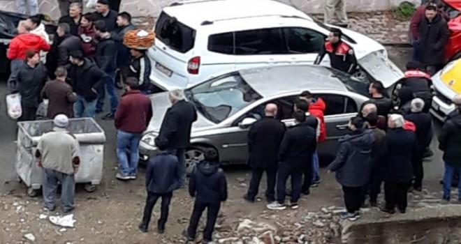 Kadını zorla otomobile bindirmek isteyen şüpheliler yakalandı