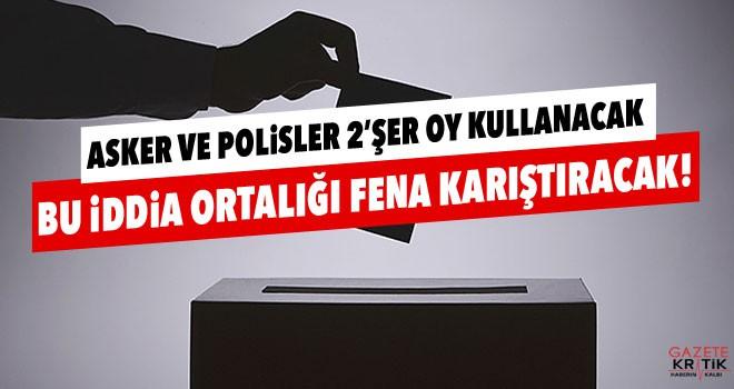 Bu belge tartışma yarattı: 31 Mart'ta polis ve askerler ikişer oy mu kullanacak?