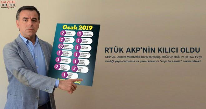 Barış Yarkadaş: RTÜK, AKP'nin kılıcı oldu