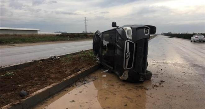 CHP'li Karataş Belediye Başkanı trafik kazası geçirdi