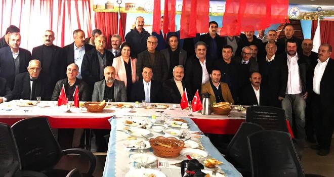 Hemşehri derneklerinden Mehmet Süne'ye tam destek