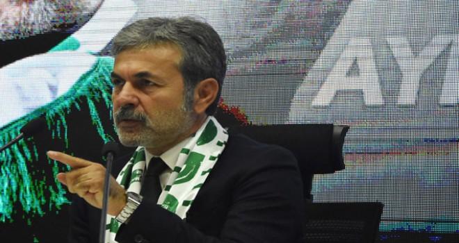 Konyaspor'da 3'üncü Aykut Kocaman dönemi resmen başladı