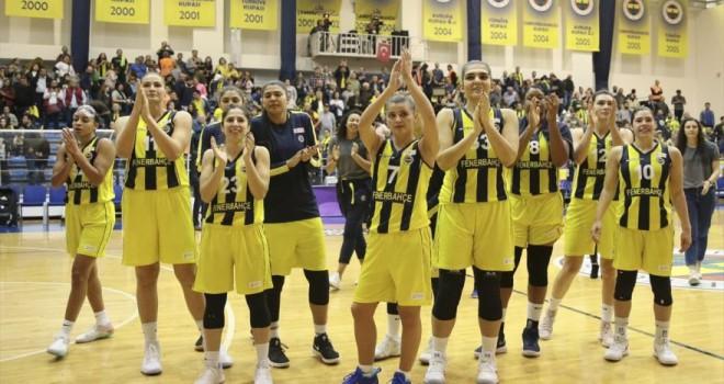 Kadınlar Basketbol Süper Ligi | Fenerbahçe: 77 – Galatasaray: 60
