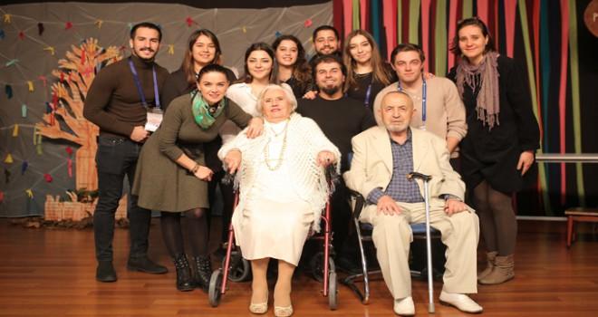 'Terk-i Saadet' oyunu Yeditepe Sahnesi'nde oynandı