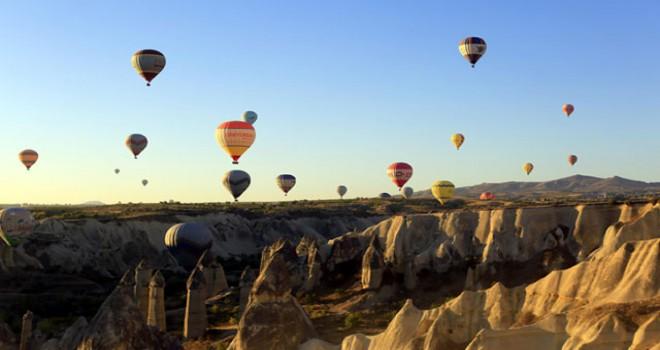 Balonla yolculuk, Kapadokya sınırlarını aştı