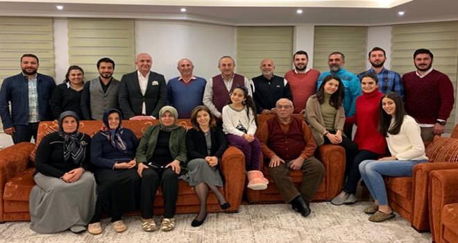 Bakan Çavuşoğlu'ndan aile pozu