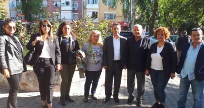 Mehmet Süne Buca ADD'nin dayanışma kahvaltısına katıldı