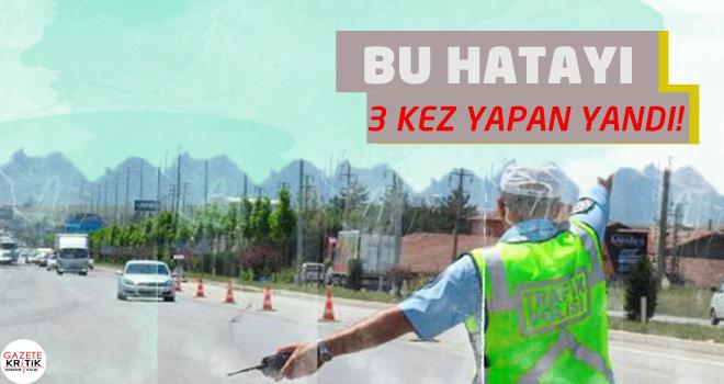 Yeni trafik cezaları Meclis'te: 3 kırmızıya 1 ay yasak