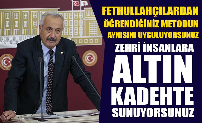 CHP'li Faruk Sarıaslan'dan çoklu baro tepkisi: Zehri insanlara altın kadehte sunuyorsunuz