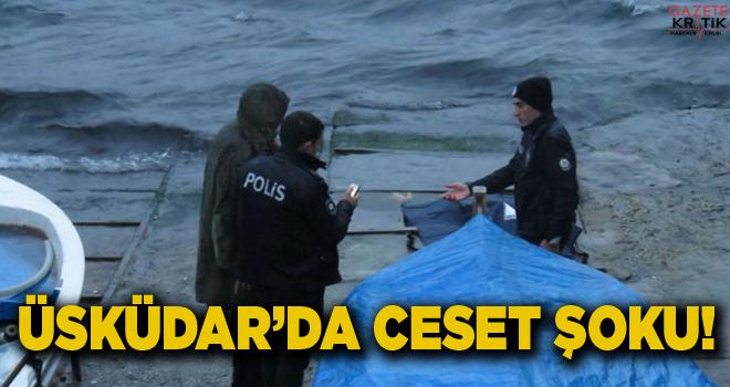 Üskürdar'da denizden ceset çıktı