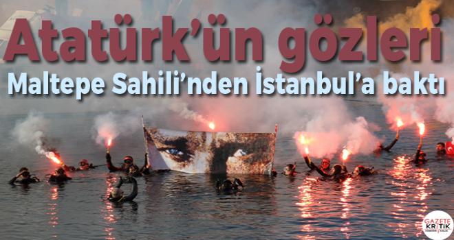 Atatürk'ün gözleri Maltepe Sahili'nden İstanbul'a baktı