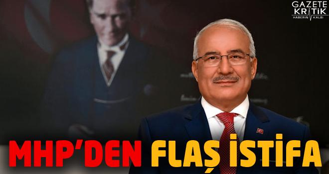 Başkan Kocamaz, partisinden istifa etti