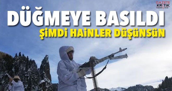 Karadeniz'de, PKK'ya eş zamanlı operasyon