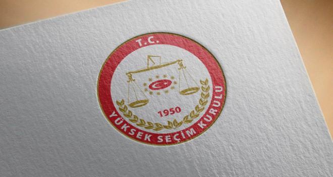 YSK'nın belirlediği yerel seçim takvimi başladı