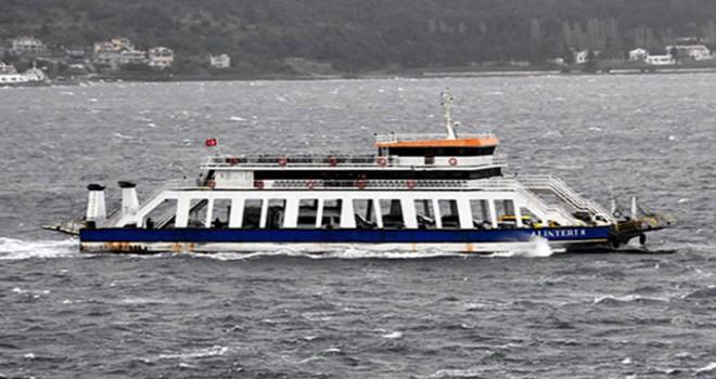 Çanakkale'de fırtına uyarısı nedeniyle bazı deniz seferleri iptal edildi