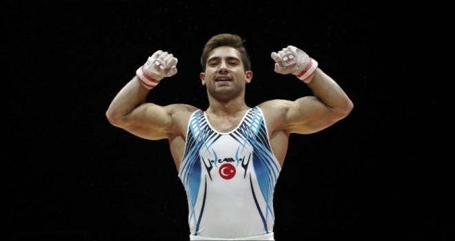 Cimnastikte tarihi madalya! İbrahim Çolak gümüş madalya kazandı