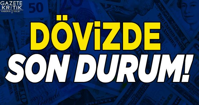 Dolar 5.47, euro 6.12 ve sterlin 7.16 lirada