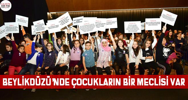 BEYLİKDÜZÜ'NDE ÇOCUKLARIN BİR MECLİSİ VAR