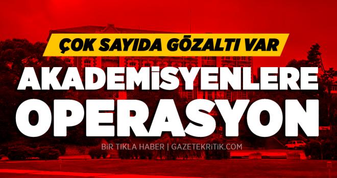İstanbul'da çok sayıda akademisyen gözaltında: 'Operasyon, Anadolu Kültür'e yönelik' iddiası