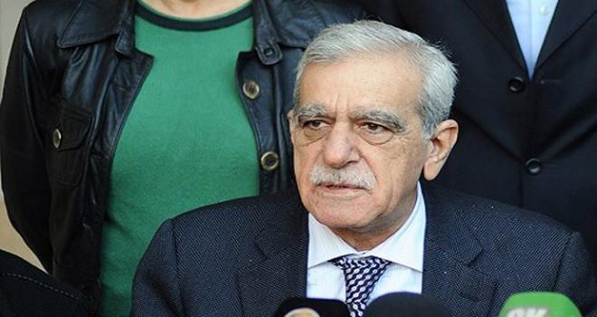 HDP'de eş başkanlık için Ahmet Türk'ün adı geçiyor