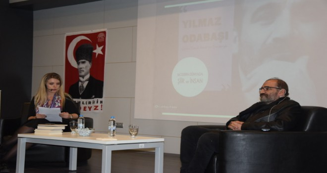 CHP'li gençler Şair Yılmaz Odabaşı'nı ağırladı