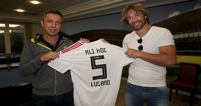 Diego Lugano, Fenerbahçe'yi ziyaret etti