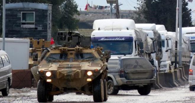 Cerablus'a askeri sevkiyat sürüyor
