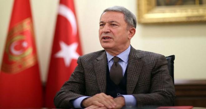 Hulusi Akar: TSK'nın tek hedefi vatanımızı korumaktır