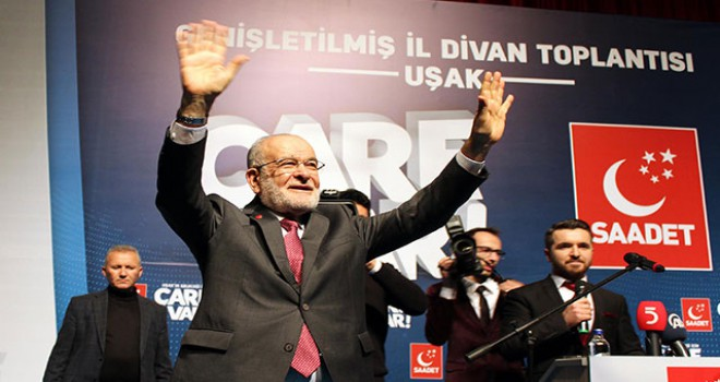 Karamollaoğlu'ndan 'Cumhur İttifakı' eleştirisi