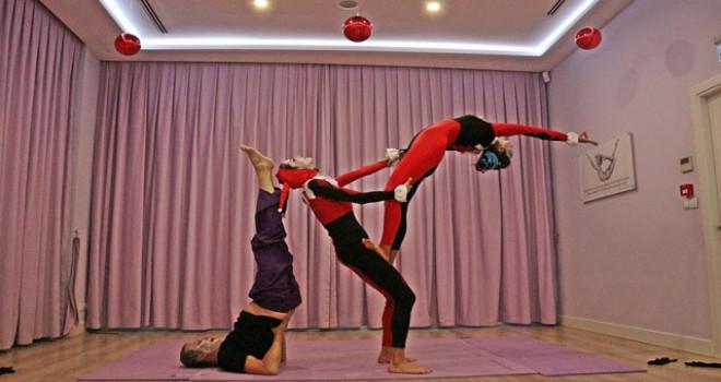 5. Uluslararası yoga koreografi turnuvası İstanbul'da yapıldı