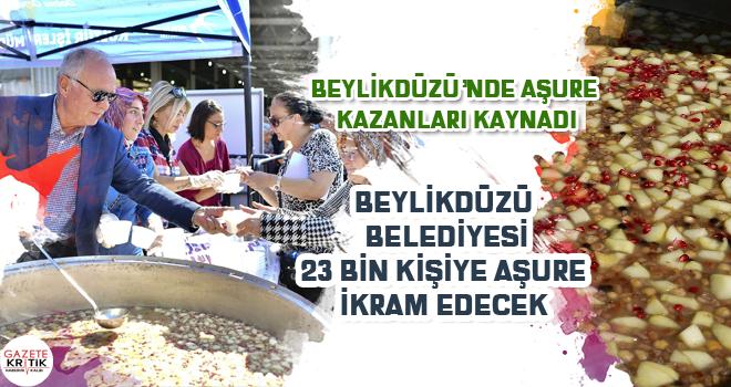 BEYLİKDÜZÜ'NDE AŞURE KAZANLARI KAYNADI