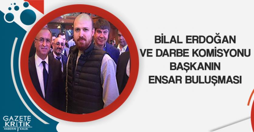 Bilal Erdoğan ve AKP'liler Ensar Buluşmasında