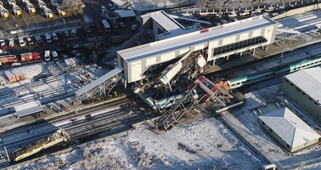 Başsavcılık: Tren kazasında şüpheli ifadeleri gerçeği yansıtmıyor