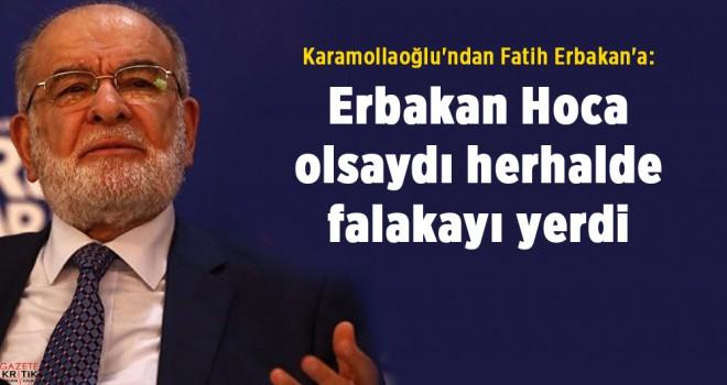 Karamollaoğlu'ndan Fatih Erbakan'a: Erbakan Hoca olsaydı herhalde falakayı yerdi