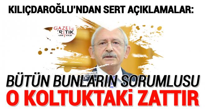 CHP Lideri Kemal Kılıçdaroğlu'ndan önemli açıklamalar