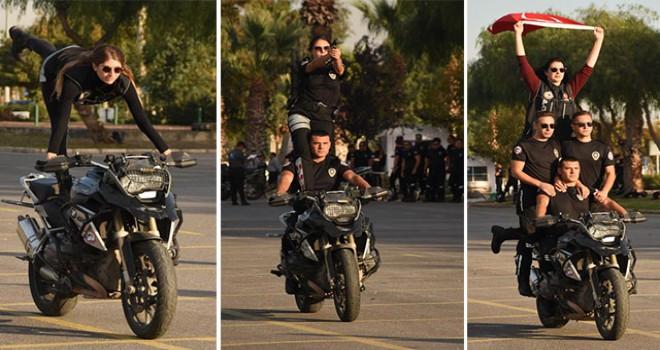 İzmir'de motosikletli timlere 88 yeni polis
