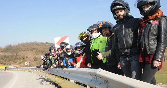 Bursa yollarına 'motorcu dostu' bariyer