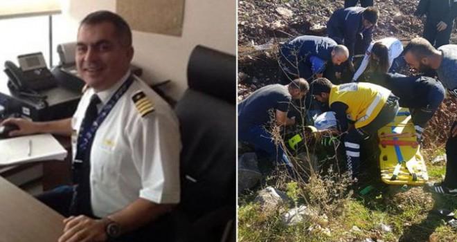 Deneyimli pilot motosiklet kazasında hayatını kaybetti