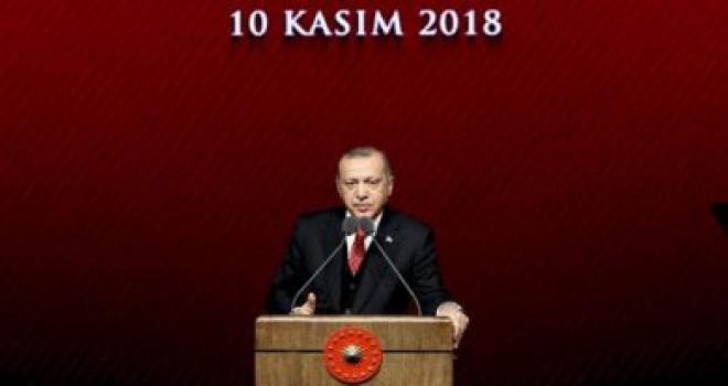 Cumhurbaşkanı Erdoğan: Muassır medeniyetler seviyesine çıkmak lafla olmaz