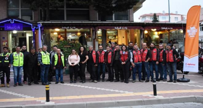 Aytemiz'in 'Motorcu Dostu Trafik' projesi Çanakkale'de