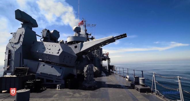 Aselsan'ın 'Korkut' Sistemi, gemileri füzelere karşı koruyor