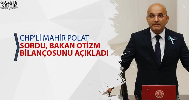 CHP'Lİ MAHİR POLAT SORDU, BAKAN OTİZM BİLANÇOSUNU AÇIKLADI